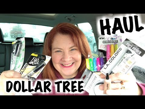 DOLLAR TREE HAUL AND SHOP WITH ME! Loads of NEW MakeUP!!!