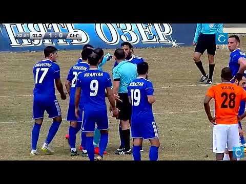 Cancelled Penalty In Armenian Cup Semifinal. Gandzasar - Shirak