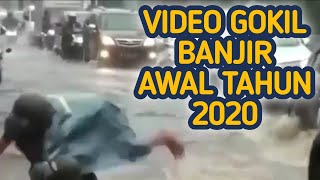Video viral masalah banjir yang lucu bikin ketawa walau takut dosa kalau ngakak. berisi info news atau berita vidio genangan air dan bencana alam atau...