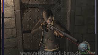 Resident Evil 4 Beta with Re 3.5 Camera Angle leftover
