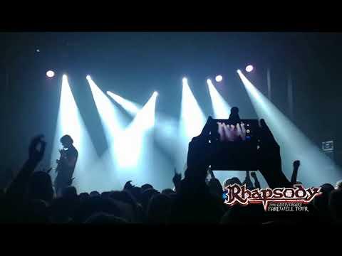 Rhapsody live in Slovakia 2018
