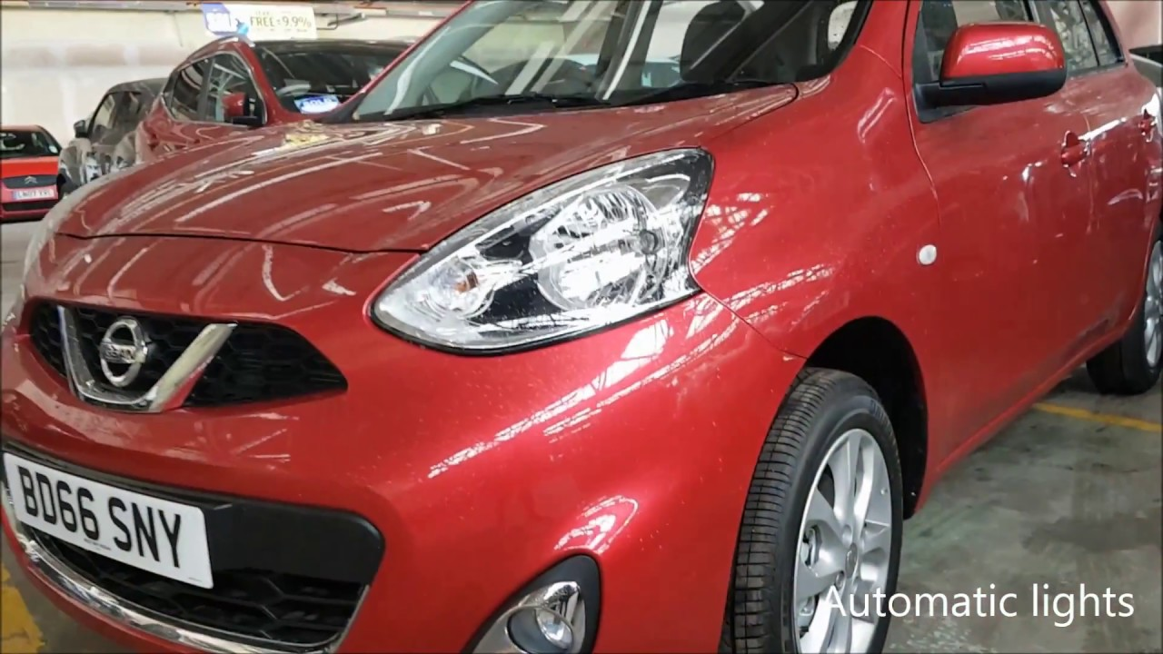 The Nissan Micra Review - My Ideal First Car - YouTube