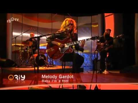 Melody Gardot Interview / Baby I'm a Fool