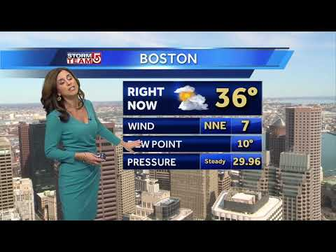 Video: Snow starts late Wednesday afternoon
