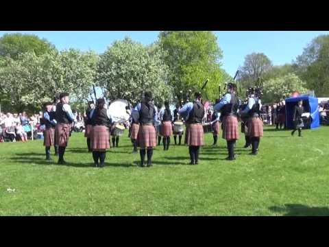 Closkelt Pipe Band Pipe Band @ Ards & North Down Pipe Band Championships 2016