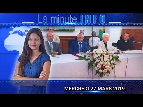 LaMinuteInfo: Le Pape en visite à Maurice