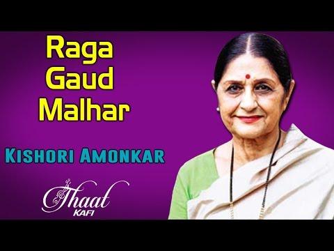 Raga Gaud Malhar   Kishori Amonkar (Album: Thaat Kafi)