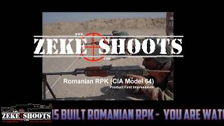 Zeke Shoots Classic :Century RPK Review