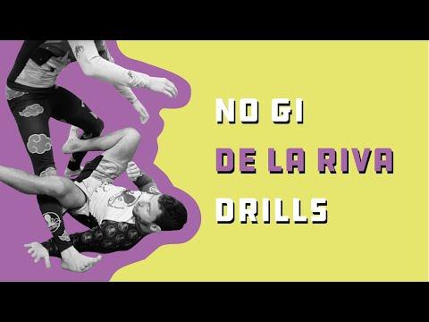 No-Gi De La Riva guard drills