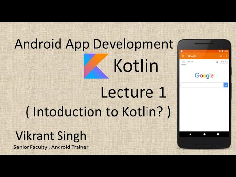 Full tutorial on Android App Development in hindi - Lecture 1 thumbnail