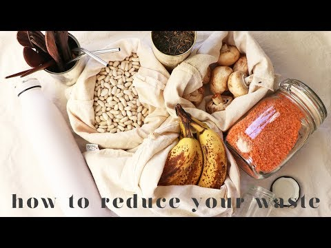 30 EASY WAYS REDUCE YOUR WASTE | My Top Tips & Hacks For Beginners!