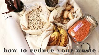 30 EASY WAYS REDUCE YOUR WASTE   My Top Tips & Hacks For Beginners!