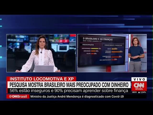 CNN Brasil: Pesquisa mostra brasileiro mais preocupado com o dinheiro