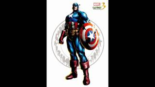 Marvel vs Capcom 3 - Theme of Captain America