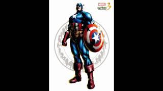 Repeat youtube video Marvel vs Capcom 3 - Theme of Captain America