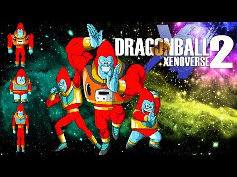 DRAGON BALL XENOVERSE 2 THE PARA PARA BROTHERS DB GT
