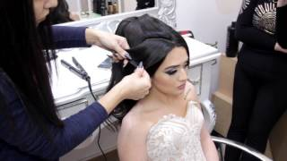 Orxideya Beauty Center (My wedding hair , Master class hairstyle, Мастер класс прическа,Gunay