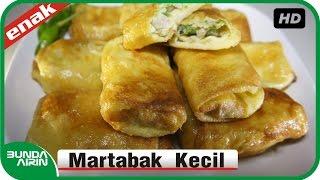 Cara Membuat Martabak Kecil Resep Masakan Indonesia  Recipes Cooking Bunda Airin