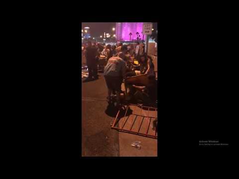 Las Vegas Mandalay Bay Shooting Raw Footage - massacre