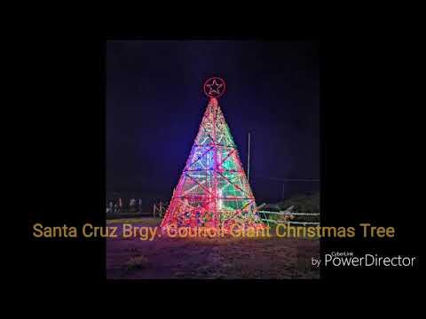 Santa Cruz Christmas Village Featuring Santa Cruz Elementary School Entry
