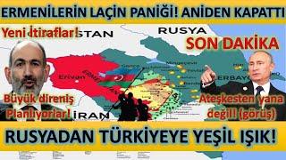 Son Dakika! Laçın Hamlesi Kapattılar! Türkiyeye Yeşil Işık! Azerbaycanda Son Durum
