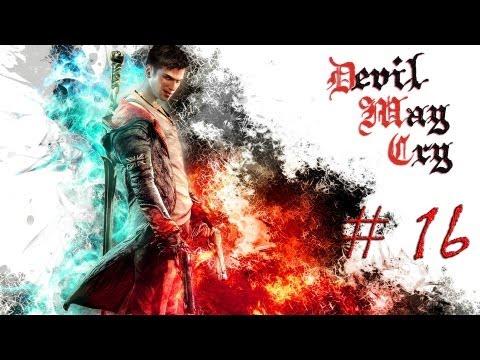 Смотреть прохождение игры DmC: Devil May Cry. Серия 16 - Пламя ада.