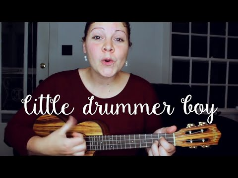 LITTLE DRUMMER BOY - UKULELE COVER - CHRISTMAS SONG