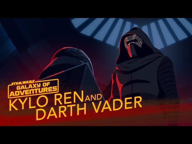 Kylo Ren and Darth Vader - A Legacy of Power | Star Wars Galaxy of Adventures