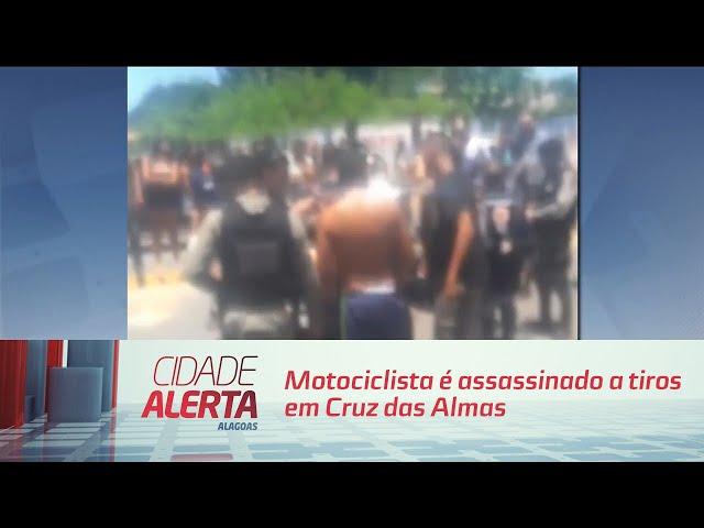 Morto por engano: motociclista é assassinado a tiros em Cruz das Almas