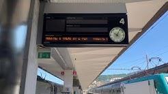 Treni fermi e stazione deserta a Trieste dopo il deragliamento