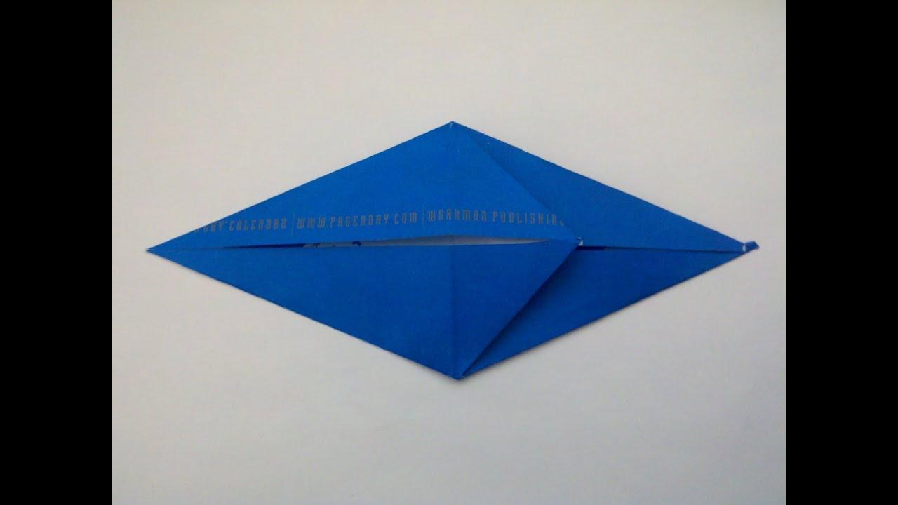 Origami Fish Base - YouTube - photo#32