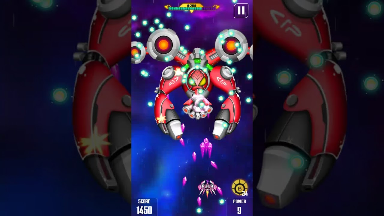 Boss Mission 10 Space Shooter Galaxy Shooting Youtube