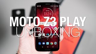 MOTO Z3 PLAY Unboxing and Tour!