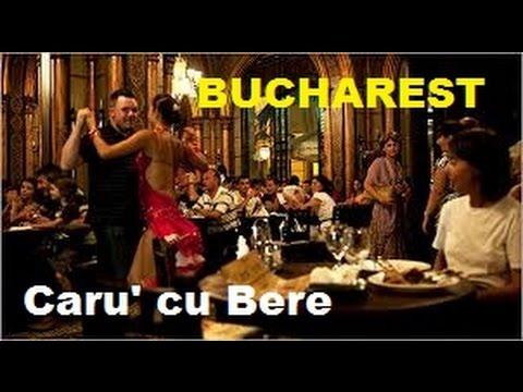 Caru' cu Bere Restaurant || BUCHAREST || recensione Marco Pesci