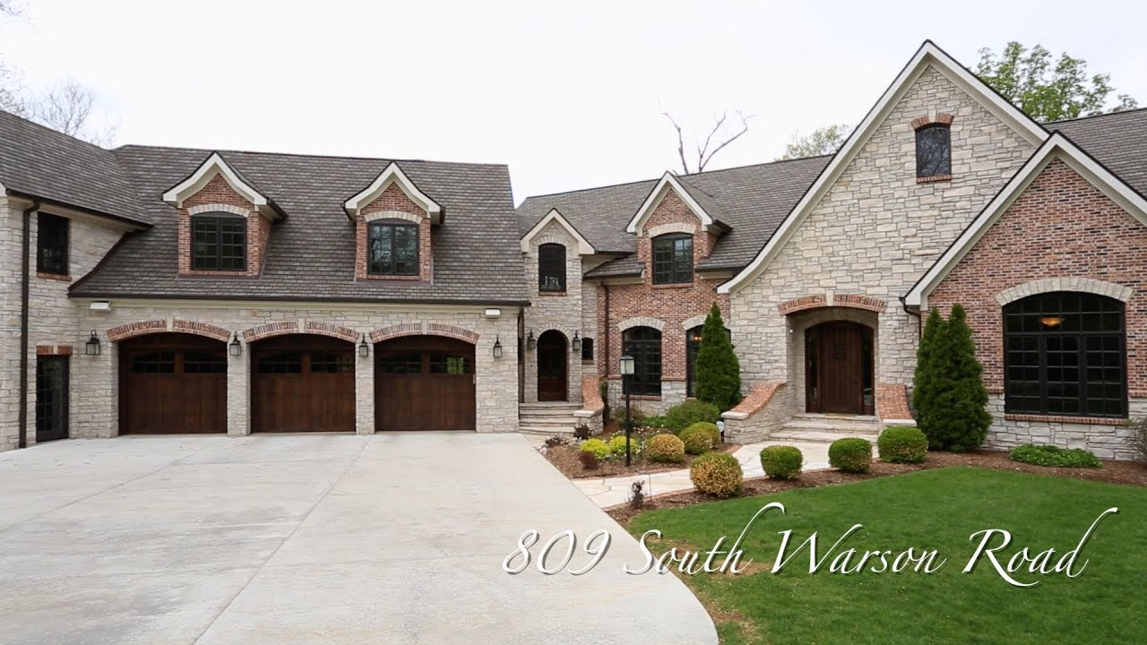 St louis cardinal chris carpenter 39 s mansion in ladue for Mansions for sale us