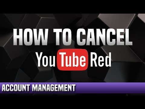 How To Cancel YouTube Red Free Trial Subscription