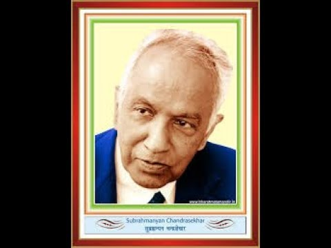 S. Chandrasekhar - indian-american astrophysicist dr. subrahmanyan chandrasekhar [nobel laureate]