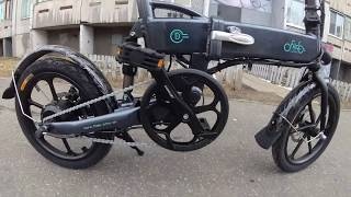 Электровелосипед , Electric bike Fiido d1/2