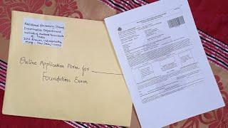 How to send CA Foundation December 2021 Exam form to ICAI ?