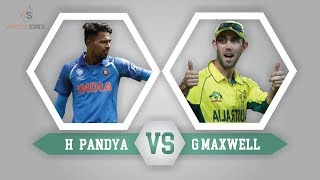 Hardik Pandya Vs Glenn Maxwell - All formats comparison - Who is the best?