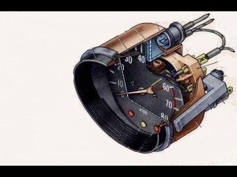 Подключаем тахометр ВАЗ 2106 к мотоциклу ИЖ 12вольт.