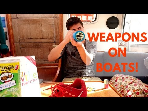 Weapons on boats! What we carry, how we use it.