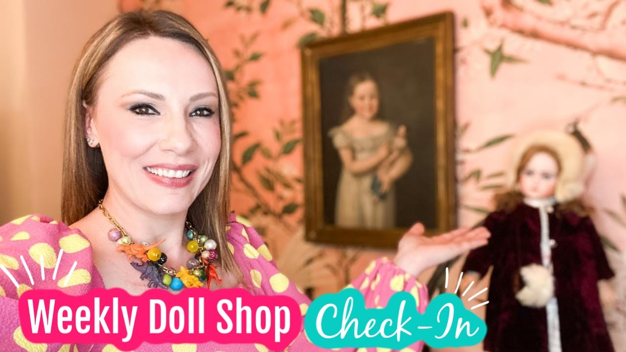 CHATTING LIVE FROM THE DOLL SHOP WITH RACHEL HOFFMAN | LIFE, PUGS, DOLLS, BUSINESS, AND MORE