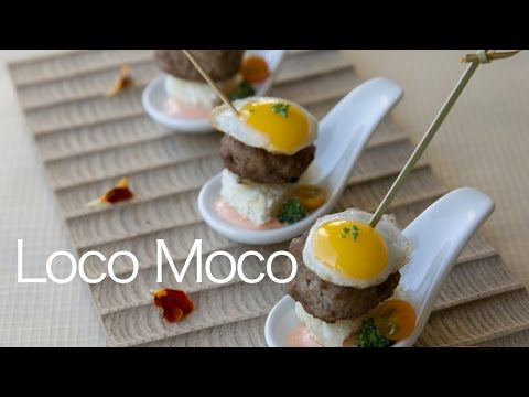 4 Loco Moco Appetizer [serves 8pc as an appetizer] by RICE VERSA