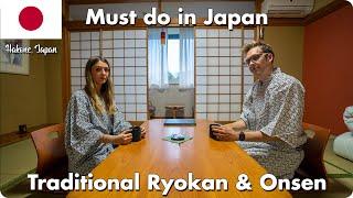 Must Do in Japan - Traditional Ryokan & Onsen   Hakone, Japan Travel Vlog