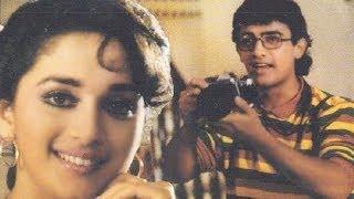 Khadi Raho - Aamir Khan, Madhuri Dixit, Deewana Mujh Sa Nahin Song