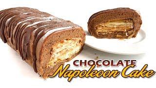 Chocolate Napoleon Cake