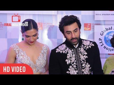 Chit Chat With Beautiful Jodi Ranbir Kapoor & Deepika Padukone  Mijwan Fashion