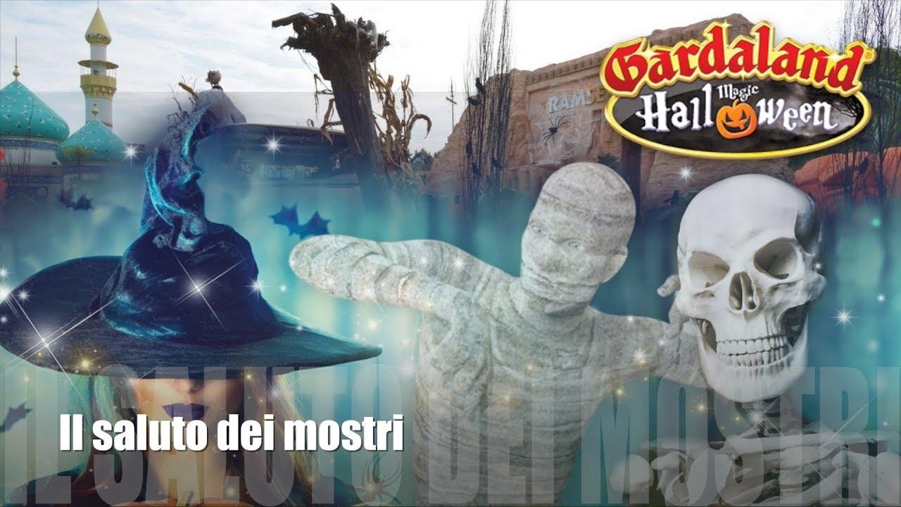 Halloween A Gardaland.Gardaland Show Il Saluto Dei Mostri Magic Halloween 2017