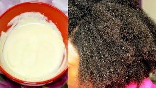 DIY Protein Treatment on Natural Hair (4B4C hair)